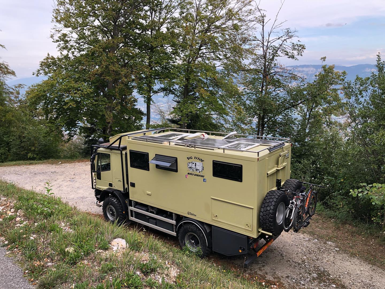 Camping-cars tout-terrains