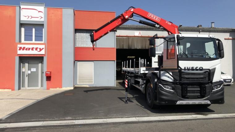 tranformation cabine camion